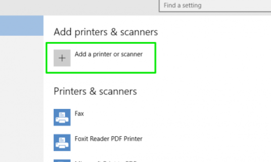 Canon Wireless Printer Setup for Windows 10